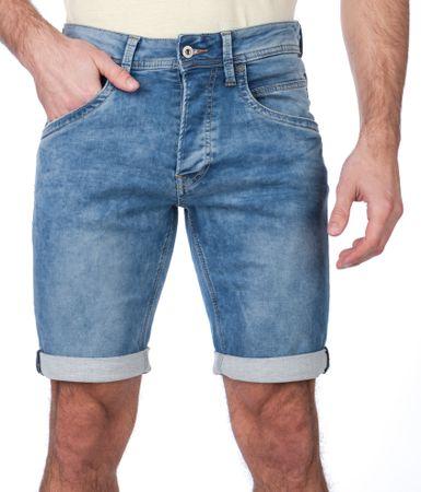 Pepe Jeans moške kratke hlače Track 31 modra