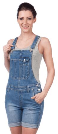 Pepe Jeans ženski kombinezon Jessica S modra