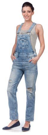 Pepe Jeans dámský overal Nomad M modrá