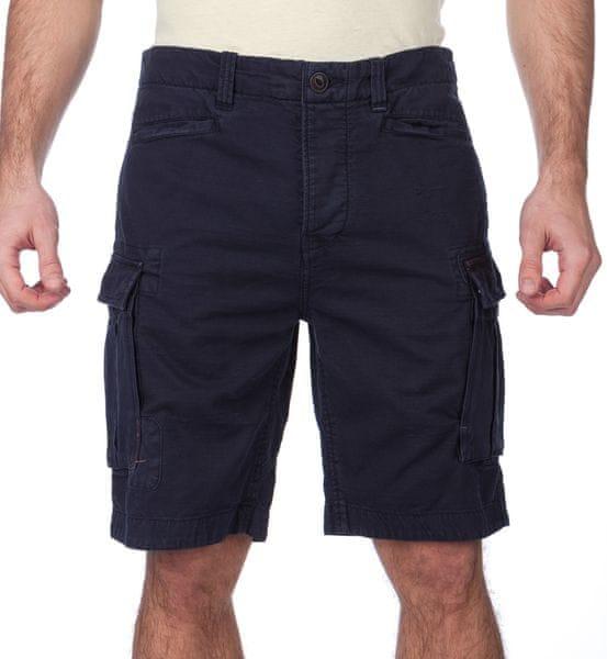 Pepe Jeans pánské kraťasy Journey 32 tmavě modrá