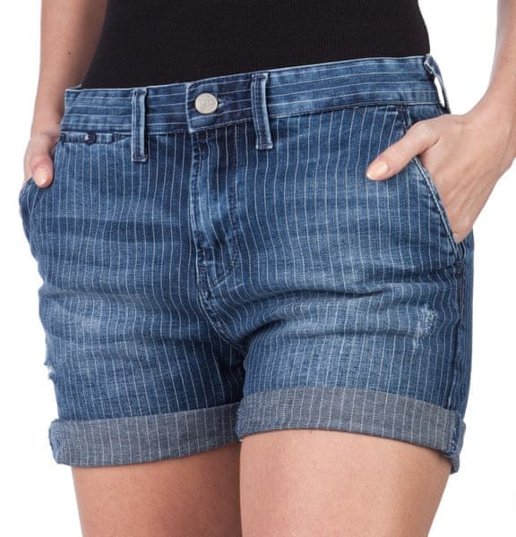 Pepe Jeans dámské kraťasy Naomie 30 modrá