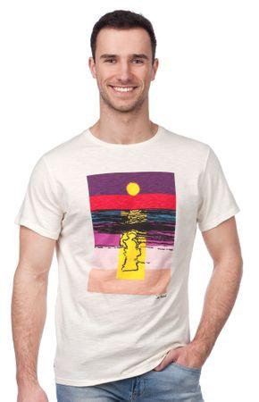 Pepe Jeans moška majica Sunset XXL smetane