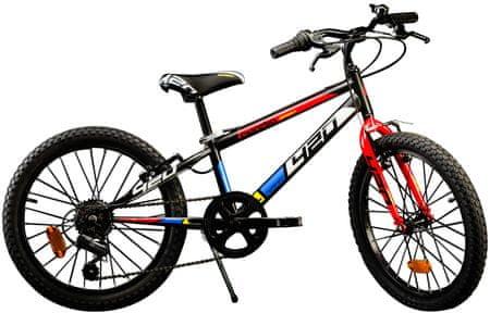 """Dino bikes Aurelia 20"""" chlapčenský, čierna"""