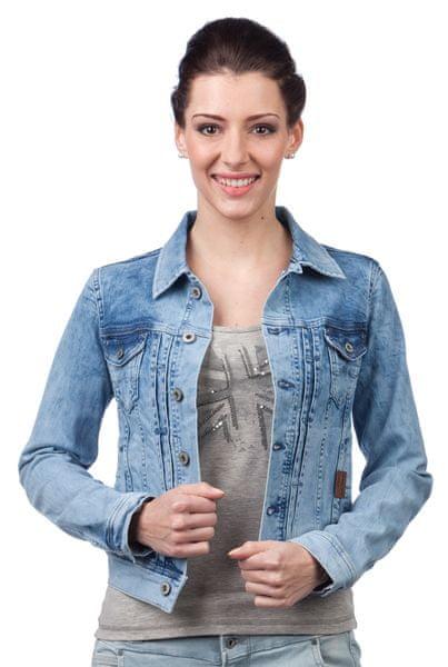 Pepe Jeans dámská bunda Mikas M modrá
