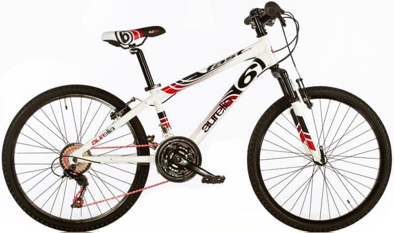 """Dino bikes Aurelia 24"""" chlapecké bílá"""