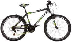 "Dino bikes Aurelia 26"" Boy Black 45/L 17,7"""