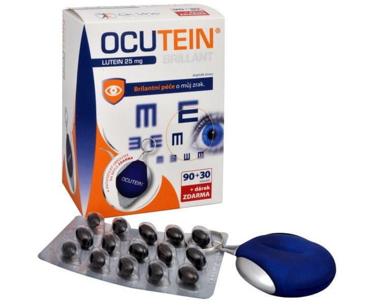 Simply you Ocutein Brillant Lutein 25 mg 90 tob. + 30 tob. ZDARMA + ubrousek na brýle ZDARMA