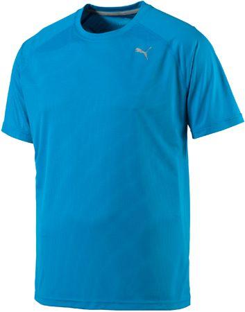 Puma moška majica Core-Run S Tee, svetlo modra, XL