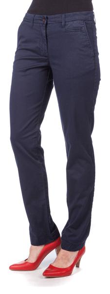 Gant dámské kalhoty 34 tmavě modrá