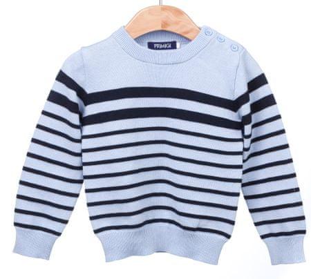 Primigi fantovski pulover 74 modra