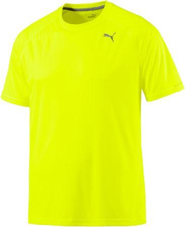 Puma moška majica Core-Run S Tee, rumena, L