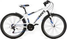 """Dino bikes Aurelia 26"""" chlapecké bílá 39/S 15,3"""""""