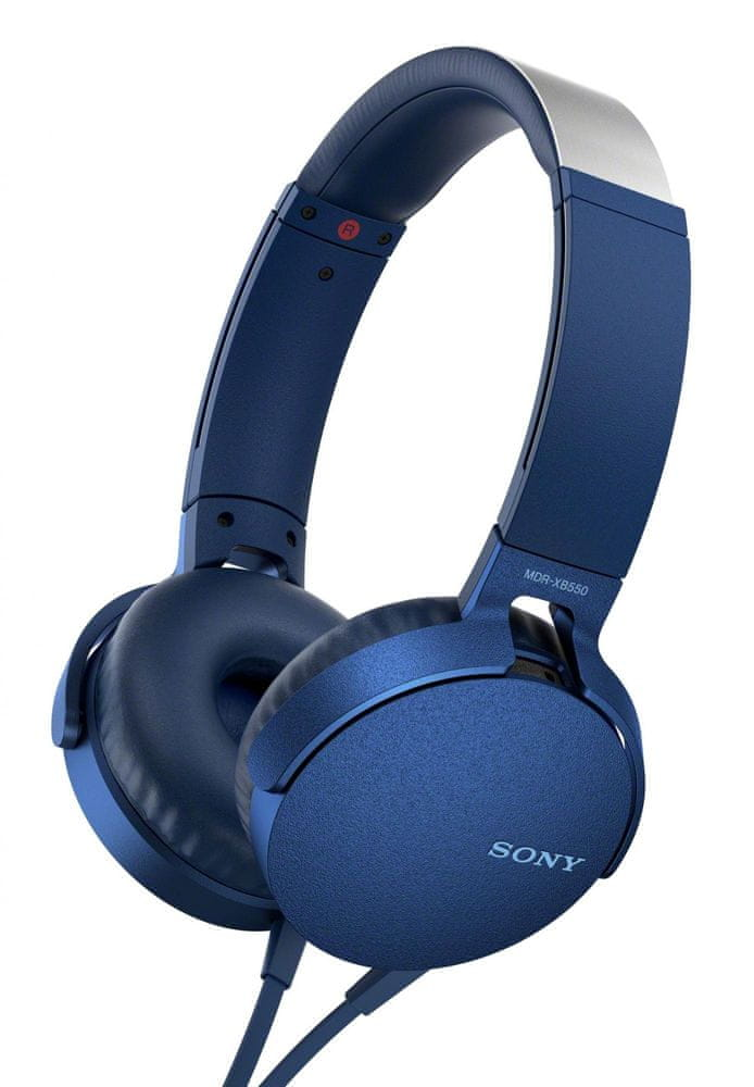 Sony MDR-XB550AP, modrá