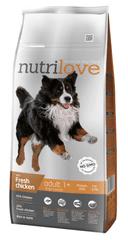 Nutrilove hrana za večje pse, piščanec, 12kg