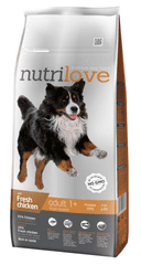 Nutrilove Adult Large Kutyatáp - 12kg