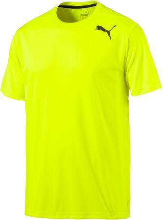 Puma moška majica Essential SS Tee, rumena, S