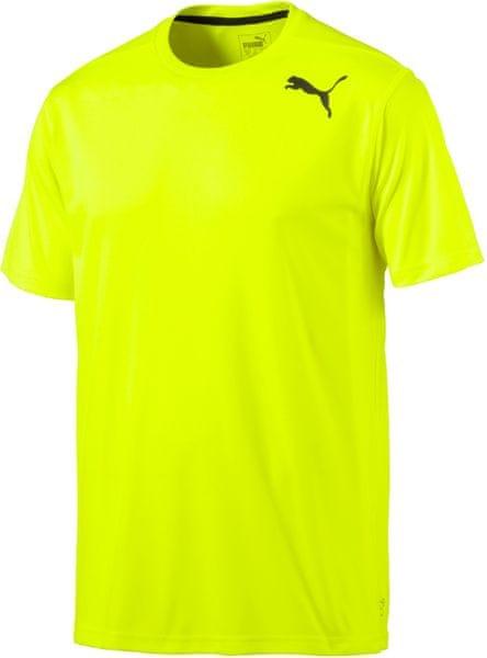 Puma Essential SS Tee Yellow L žlutá