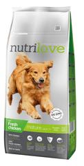 Nutrilove Dog Senior Fresh Chicken 12kg