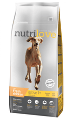 Nutrilove Dog Active Fresh Chicken 12kg