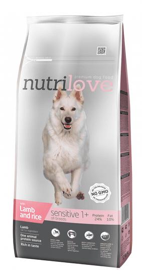 Nutrilove hrana za pse Sensitive, 12kg