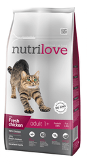 Nutrilove Cat Adult Fresh Chicken 8kg