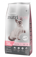 Nutrilove Cat Sterile Fresh Chicken 7kg