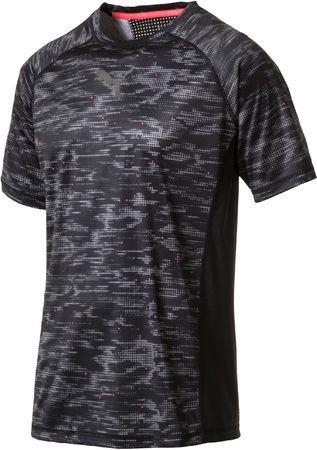 Puma moška majica Vent SS Graphic Tee, črna, S