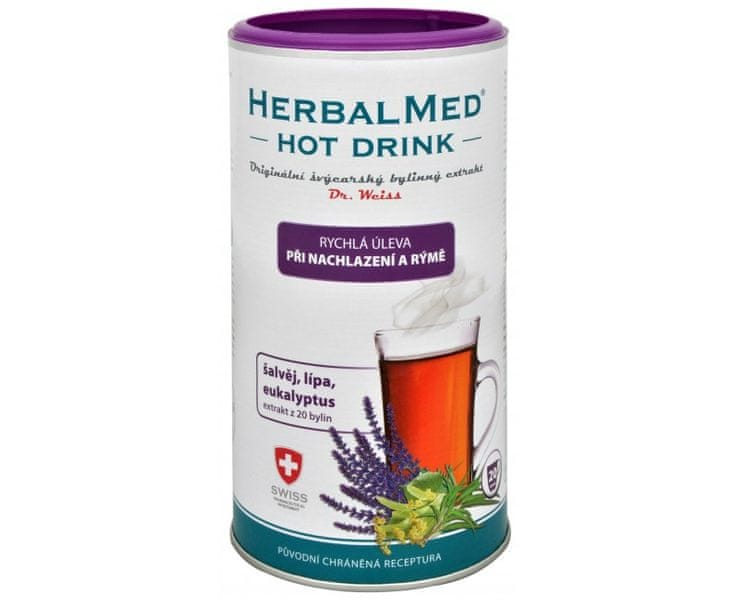 Simply you HerbalMed Hot Drink Dr. Weiss - nachlazení, rýma 180 g