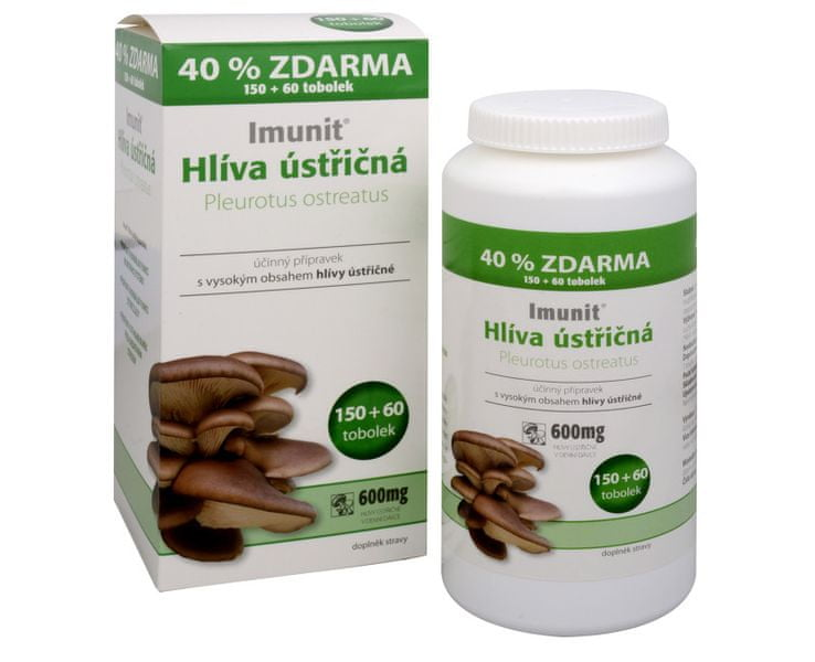 Simply you Imunit Hlíva ústřičná 150 tob. + 60 tob. ZDARMA