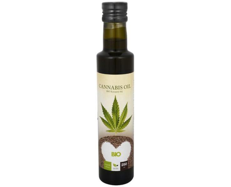 Natural Medicaments Cannabis oil - BIO Konopný olej 250 ml