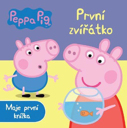 Peppa Pig První zvířátko - Moje první knížka