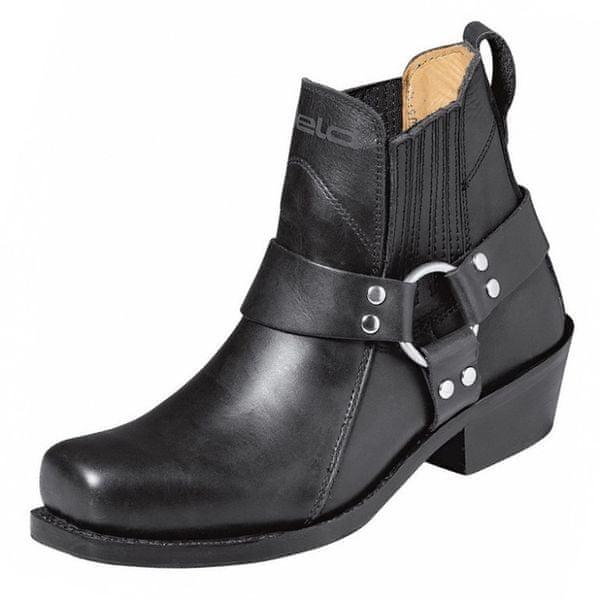 Held boty (koně) BILOXI vel.42 černé, kůže (pár)