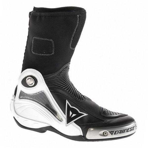 Dainese boty AXIAL PRO IN vel.47, bílá/černá (pár)