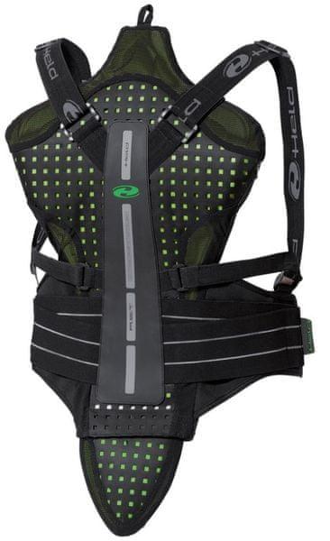 Held páteřový chránič SAKARI vel.XL černá/zelená