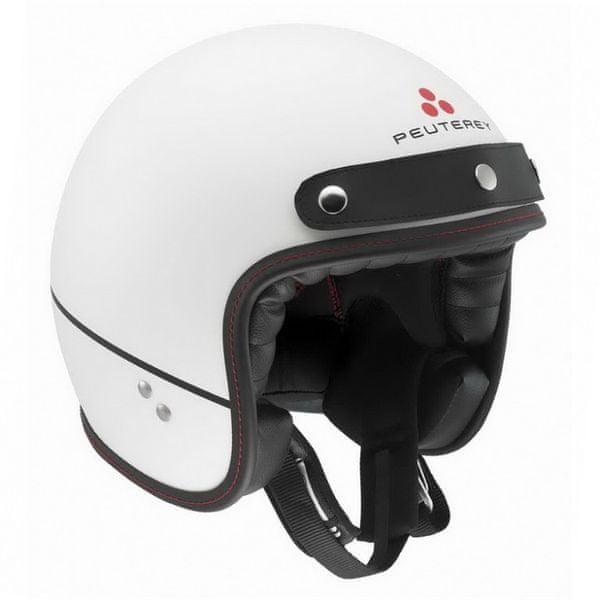 AGV přilba RP60 Shelter Peuterey, bílá matná + kšilt + dárek brýle, vel.S (55-56cm)