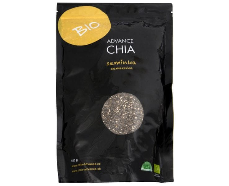 Advance nutraceutics BIO Chia semínka 500 g