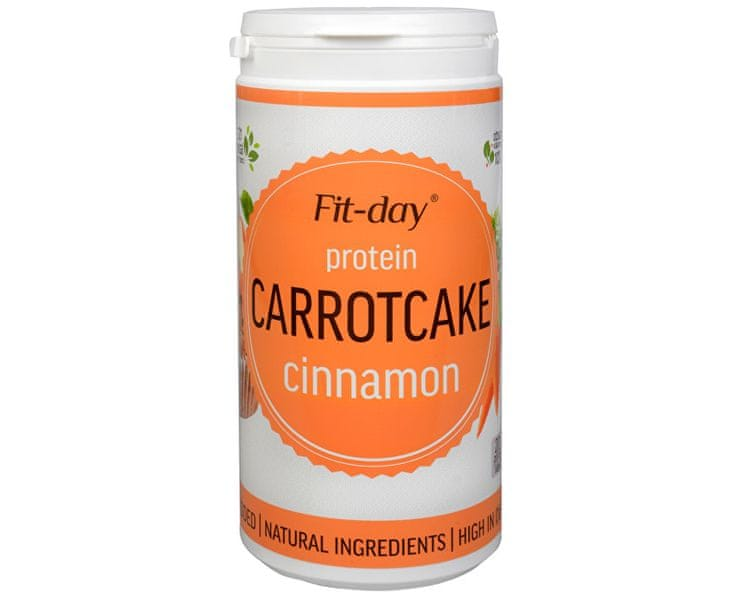 Fit-day Protein Carottcake CINNAMON 600 g