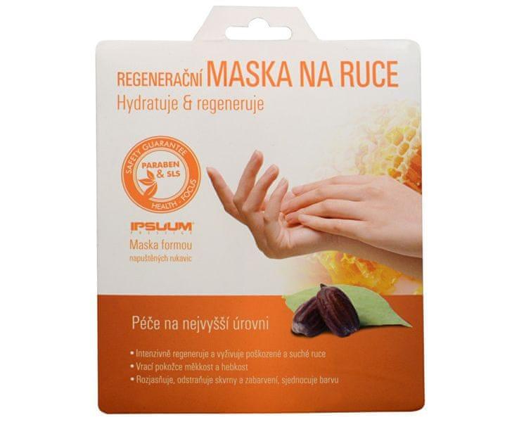 Ipsuum Prestige Regenerační maska na ruce - rukavice
