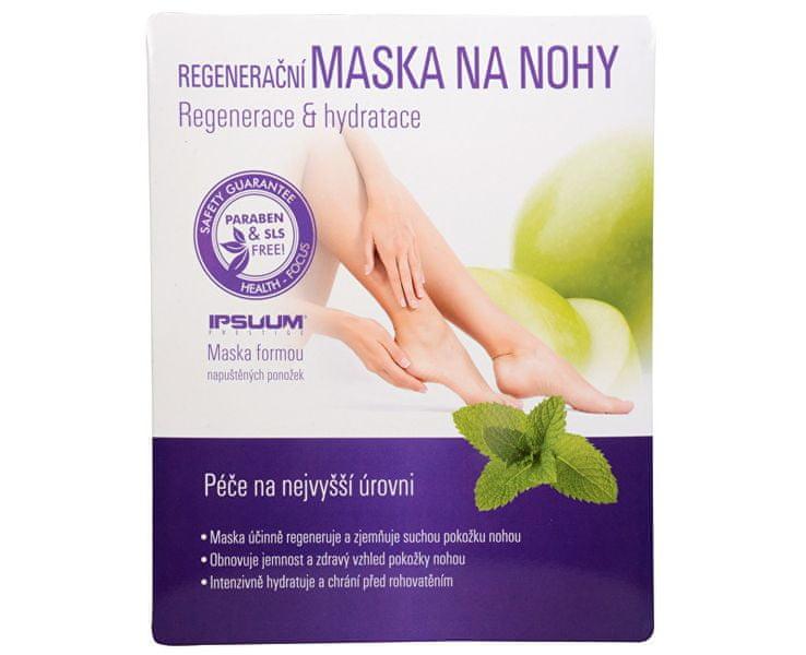 Ipsuum Prestige Regenerační maska na nohy - ponožky