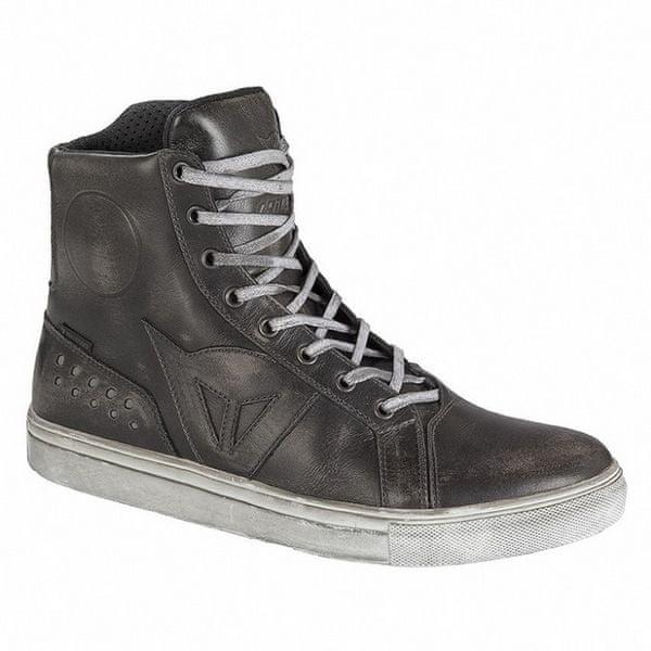 Dainese kotníkové boty STREET ROCKER D-WP vel.46 černá, kůže (pár)