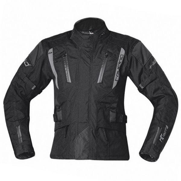 Held pánská bunda 4-TOURING vel.5XL černá, textilní REISSA