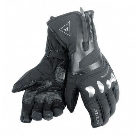 Dainese rukavice X-TRAVEL GORE-TEX vel.M černá, textil/kůže