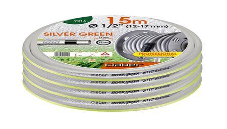 """Claber cev za vodo Silver Green, 1/2"""", 15 m (9016)"""
