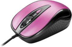 Yenkee YMS 1025PK Myš USB Quito růžová