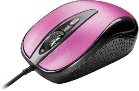 Yenkee YMS 1025PK mysz USB Quito różowa