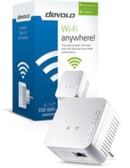 Devolo mrežni adapter dLAN 550 duo+ Single Adapter