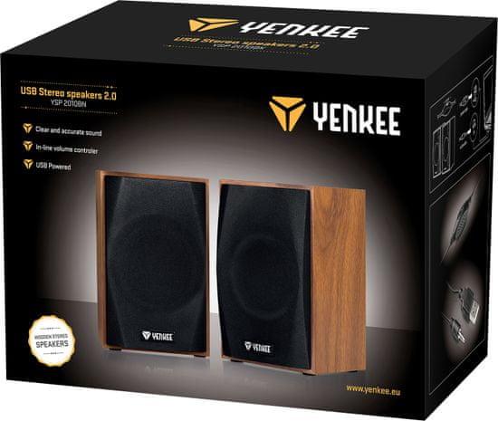 Yenkee YSP 2010BN USB reproduktory 2.0