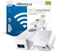 Devolo mrežni adapter dLAN 550 Wifi Starter Kit