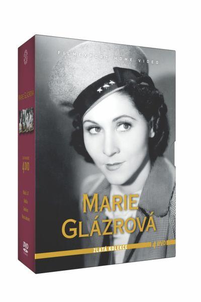 Kolekce Marie Glázrová (4DVD) - DVD
