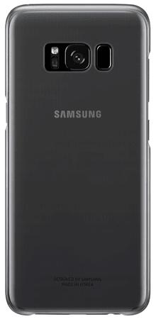 Samsung ovitek Clear View za Galaxy S8 Plus, črn (EF-QG955CBE)